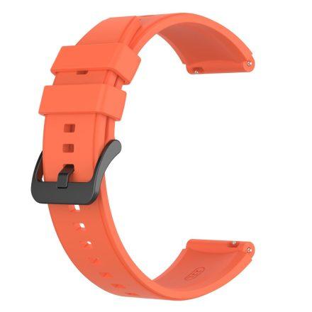 RMPACK Huawei Watch 3 / Watch 3 Pro Pótszíj Szilikon Óraszíj 22mm Narancssárga