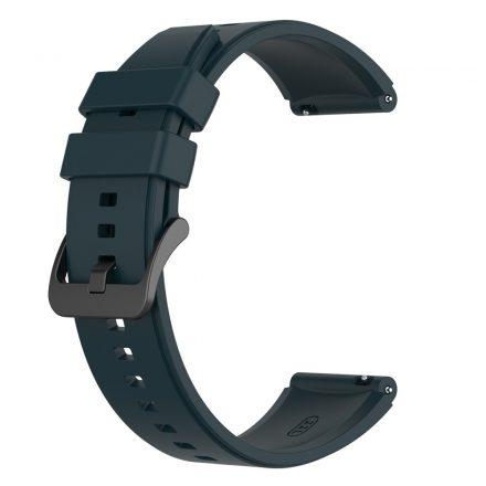 RMPACK Huawei Watch 3 / Watch 3 Pro Pótszíj Szilikon Óraszíj 22mm Sötétzöld