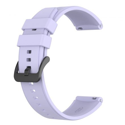 RMPACK Huawei Watch 3 / Watch 3 Pro Pótszíj Szilikon Óraszíj 22mm Lila