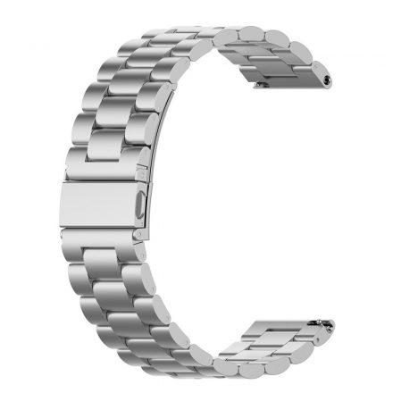 RMPACK Huawei Watch 3 / Watch 3 Pro Fém Pótszíj Óraszíj Steel Series Ezüst