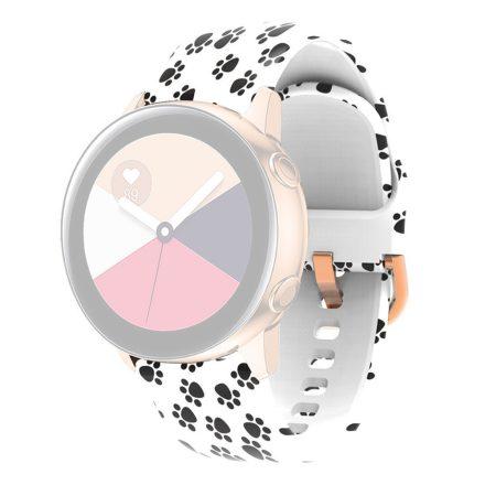 RMPACK Huawei Watch 3 / Watch 3 Pro Szilikon Óraszíj 22mm Mintás Pótszíj SummerSeries A02