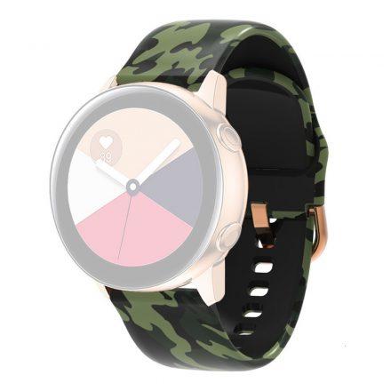 RMPACK Huawei Watch 3 / Watch 3 Pro Szilikon Óraszíj 22mm Mintás Pótszíj SummerSeries A04