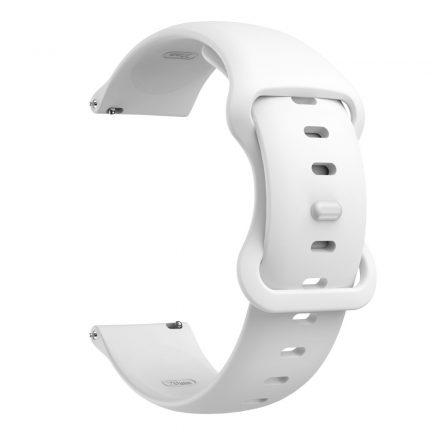 RMPACK Huawei Watch 3 / Watch 3 Pro Pótszíj Elegant Óraszíj Szilikon 22mm Fehér