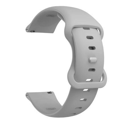 RMPACK Huawei Watch 3 / Watch 3 Pro Pótszíj Elegant Óraszíj Szilikon 22mm Szürke