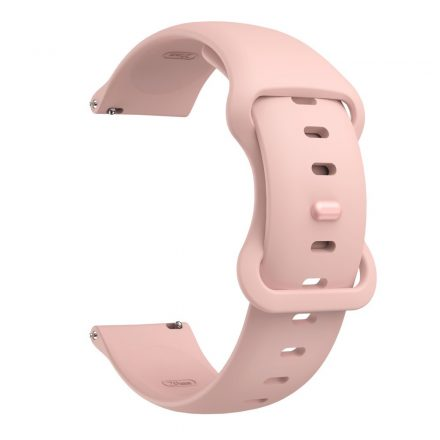 RMPACK Huawei Watch 3 / Watch 3 Pro Pótszíj Elegant Óraszíj Szilikon 22mm Rózsaszín