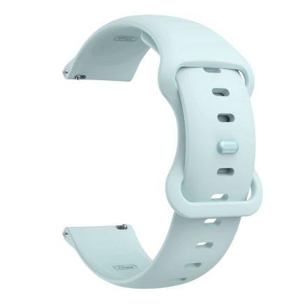 RMPACK Huawei Watch 3 / Watch 3 Pro Pótszíj Elegant Óraszíj Szilikon 22mm Világoskék