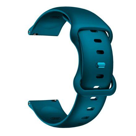 RMPACK Huawei Watch 3 / Watch 3 Pro Pótszíj Elegant Óraszíj Szilikon 22mm Sötétzöld
