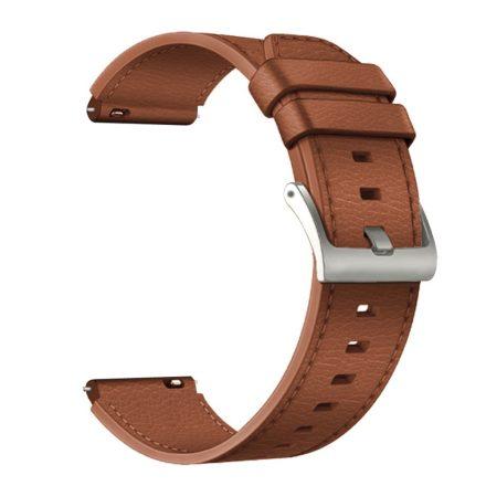 RMPACK Huawei Watch 3 / Watch 3 Pro Bőrszíj Óraszíj Premium Pótszíj 22mm Barna