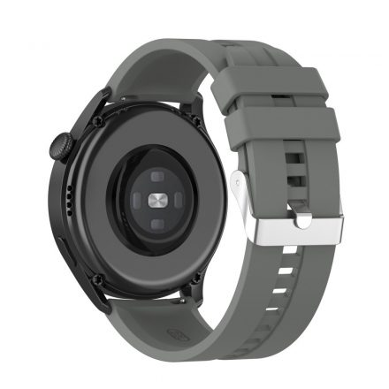 RMPACK Huawei Watch 3 Pro / Watch 3 Óraszíj Pótszíj Sport Style Szilikon Szíj 22mm Szürke