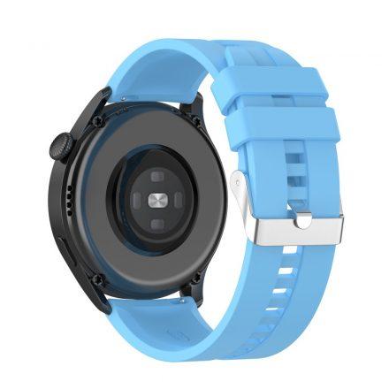 RMPACK Huawei Watch 3 Pro / Watch 3 Óraszíj Pótszíj Sport Style Szilikon Szíj 22mm Világoskék