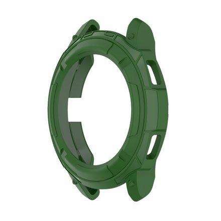 RMPACK Samsung Galaxy Watch4 Classic 46mm Védőkeret Szilikon Védelem Zöld