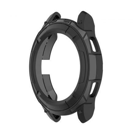 RMPACK Samsung Galaxy Watch4 Classic 46mm Védőkeret Szilikon Védelem Fekete