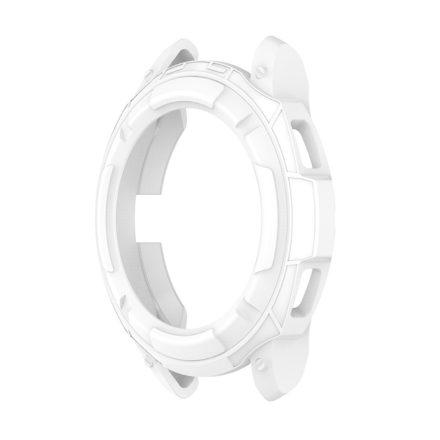 RMPACK Samsung Galaxy Watch4 Classic 46mm Védőkeret Szilikon Védelem Fehér