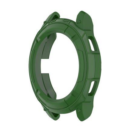 RMPACK Samsung Galaxy Watch4 Classic 42mm Védőkeret Szilikon Védelem Zöld