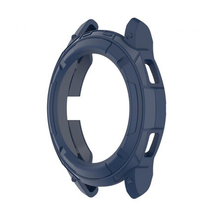 RMPACK Samsung Galaxy Watch4 Classic 42mm Védőkeret Szilikon Védelem Sötétkék
