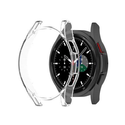 RMPACK Samsung Galaxy Watch4 Classic 46mm Védőkeret TPU Szilikon Áttetsző