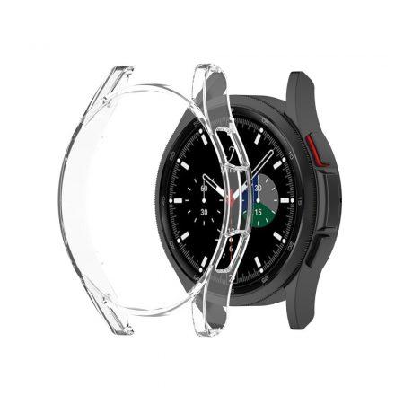 RMPACK Samsung Galaxy Watch4 Classic 42mm Védőkeret TPU Szilikon Áttetsző