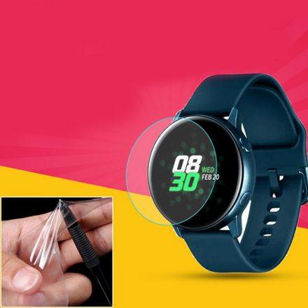 RMPACK Samsung Galaxy Watch4 44mm Képernyővédő Fólia TPU