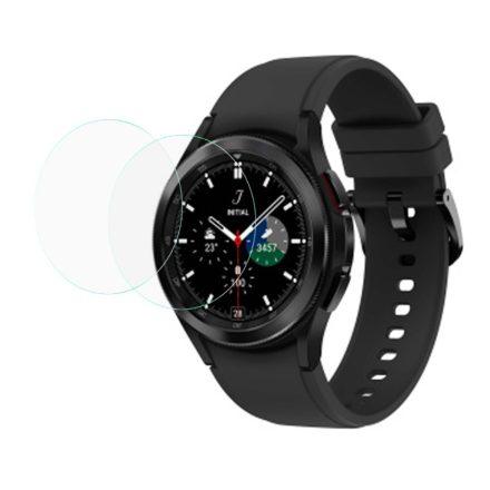 RMPACK Samsung Galaxy Watch4 Classic 42mm Képernyővédő Üvegfólia Tempered Glass 2db