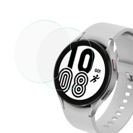 RMPACK Samsung Galaxy Watch4 44mm Képernyővédő Üvegfólia Tempered Glass 2db