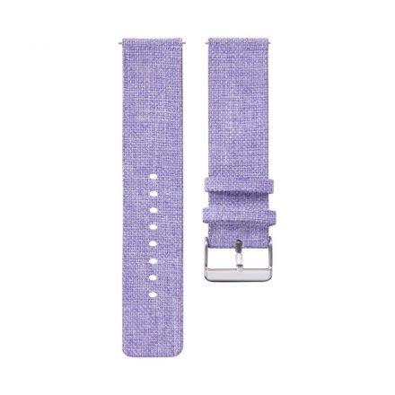 RMPACK Samsung Galaxy Watch4 40mm|Classic 42mm|44mm|Classic 46mm Szövet Pótszíj Óraszíj Canvas Elegance Series Lila