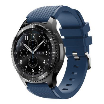 Samsung Gear S3 Frontier / Gear S3 Pótszíj - Óraszíj Trendy Sport Szilikon Kék